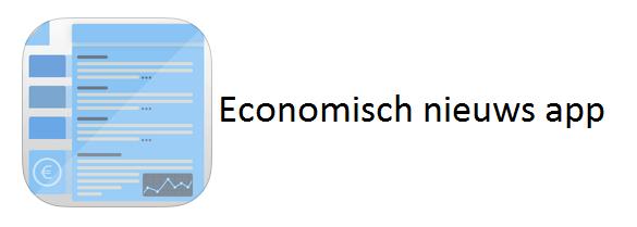 Economisch nieuws app